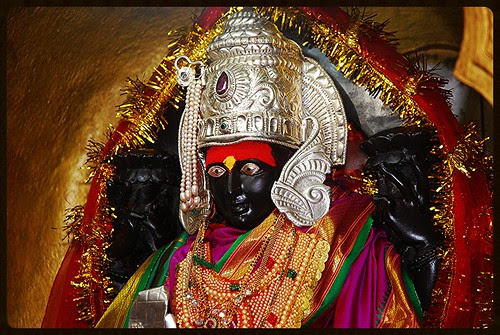 The Goddess Mahalaxmi Of Latur by firoze shakir photographerno1