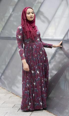 9fa76ecca8c8c Are you not able to find elegant and unique style of Islamic dresses for  women? If your answer is yes, then you don't need to worry anymore as Niswa  Fashion ...