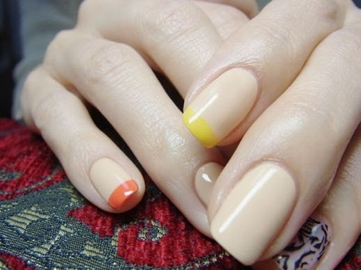 LE FASHION BLOG NAIL CANDY MIX NUDE ORANGE YELLOW TIP FRENCH MANICURE NAIL ART INSPIRATION 5 photo LEFASHIONBLOGNAILCANDYMIXNUDEORANGEYELLOWTIPFRENCHMANICURE5.jpg