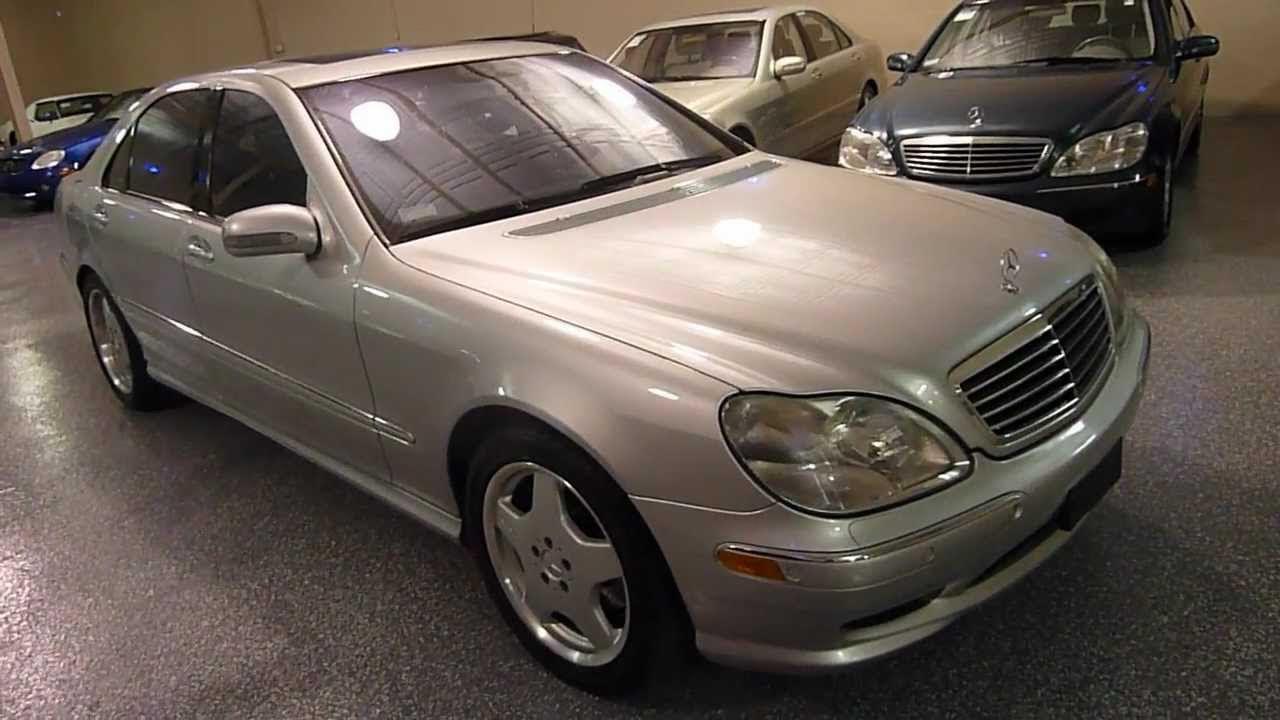 2001 Mercedes-Benz S500 4dr Sedan Sport Pkg. SOLD (#2170 ...