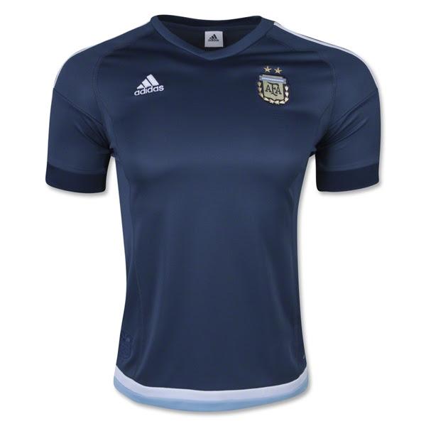 Camiseta Argentina adidas alternativa away 2015 00