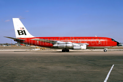Braniff International Airways (1st) Boeing 707-138B N107BN (msn 18739) DAL (Bruce Drum). Image: 102890.