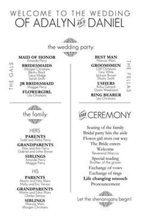 civil ceremony order of service   Google Search   wedding
