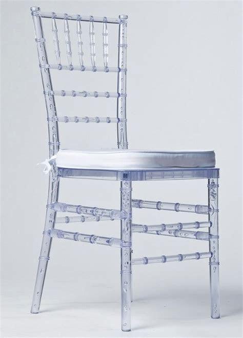 Ice Ghost Chiavari Chairs