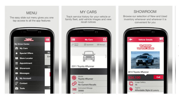 Free Delray Toyota Mobile App Service And Cars For Sale In Delray Deerfield West Palm Beach