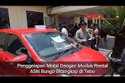 VIDEO: Gelapkan 26 Unit Mobil, ASN Bungo Ditangkap di Tebo