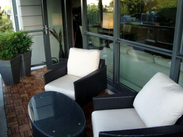 Ideas for small condo patios