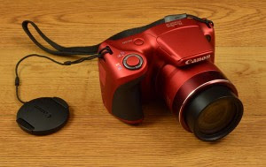 Canon PowerShot SX400 top