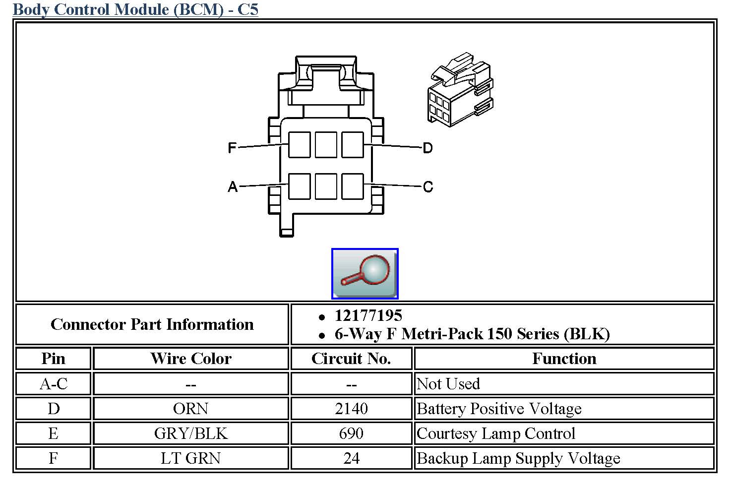 Gm Body Control Module Wiring Diagram Free Wiring Diagram