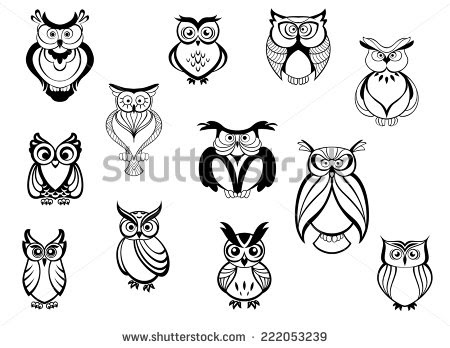 Small Owl Drawing At Getdrawingscom Free For Personal Use Small