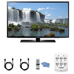 Samsung UN50J6200 - 50-Inch Full HD 1080p 120hz Smart LED HDTV + Hookup Kit