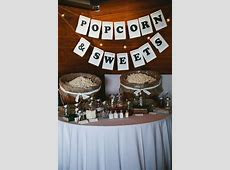 44 Exciting Popcorn Bar Ideas For Your Wedding   Weddingomania