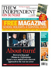 London INDEPENDENT on Sunday 20 July 2008