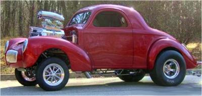 American Gasser Willys