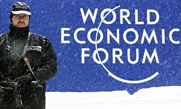 Davos security guard