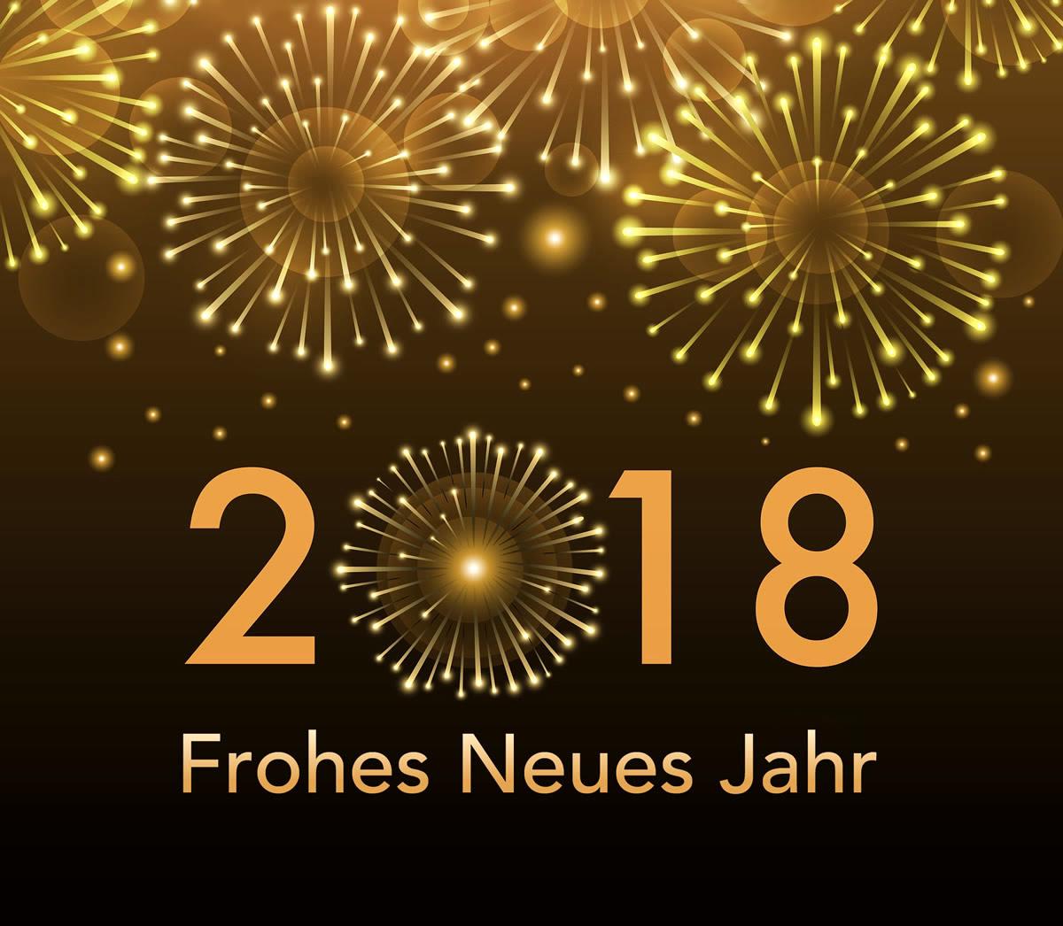 Bildergebnis für frohes neues jahr 2018