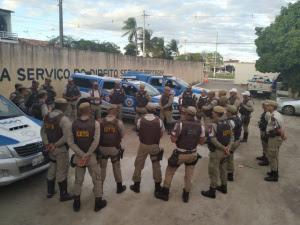 Resultado de imagem para Iniciada operação de segurança para Vaquejada de Serrinha