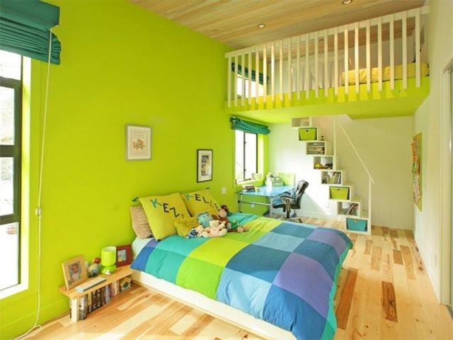 Warna Cat Kamar Tidur Anak; Pilihan Warna Terbaik Menurut ...