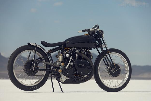 Vincent Black Lightning custom