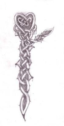 Celtic Heart Tattoo Pic Design