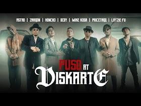 Puso at Diskarte by Astro, Dcoy, Honcho, Layzie Fu, Mike Kosa, Pricetagg, Zargon [Music Video]