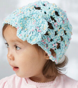 Dippity Dot Lacey Shells Baby Hat