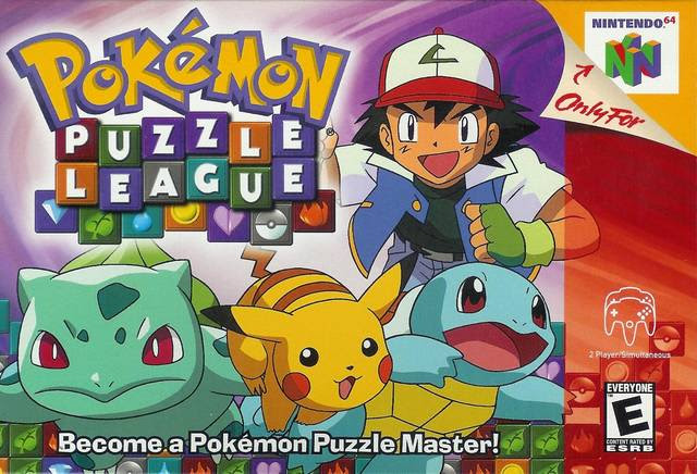 Pokemon Puzzle League Nintendo 64 N64
