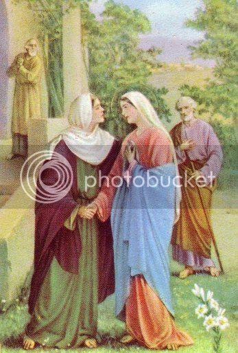 Pesta SP Maria mengunjungi Elisabet