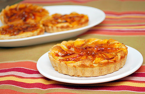 Peaches & Cream Tartlettes