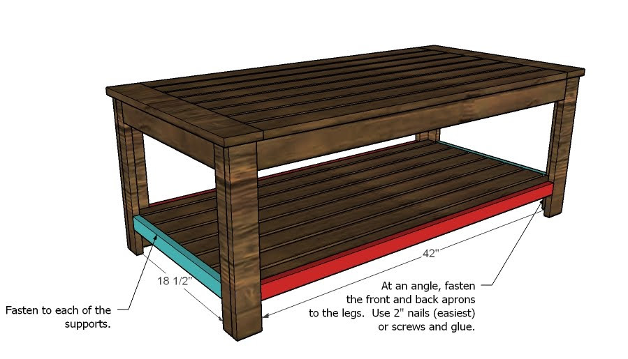 outdoor coffee table woodworking plans - WoodShop Plans