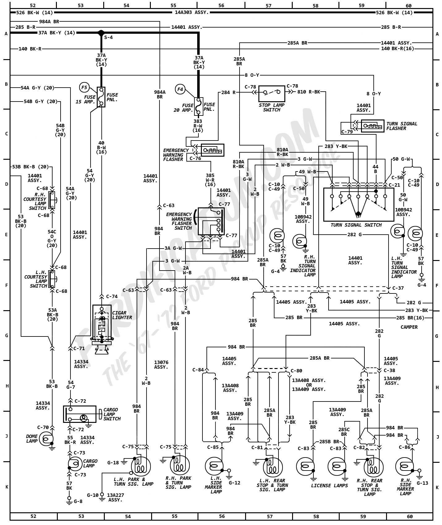 1976 F250 Camper Special Wiring Diagrams Wiring Diagram Extend B Extend B Reteimpresesabina It