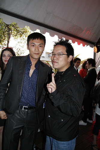Me with Qin Hao