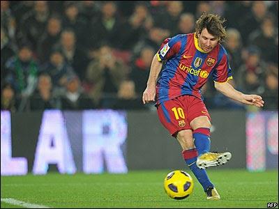 Fútbol: Fotos de Lionel Messi como jugador del FC Barcelona de España