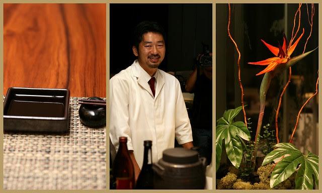 Kumo Japanese Kaiseki Restaurant with Chef Hidehashi Nobuaki