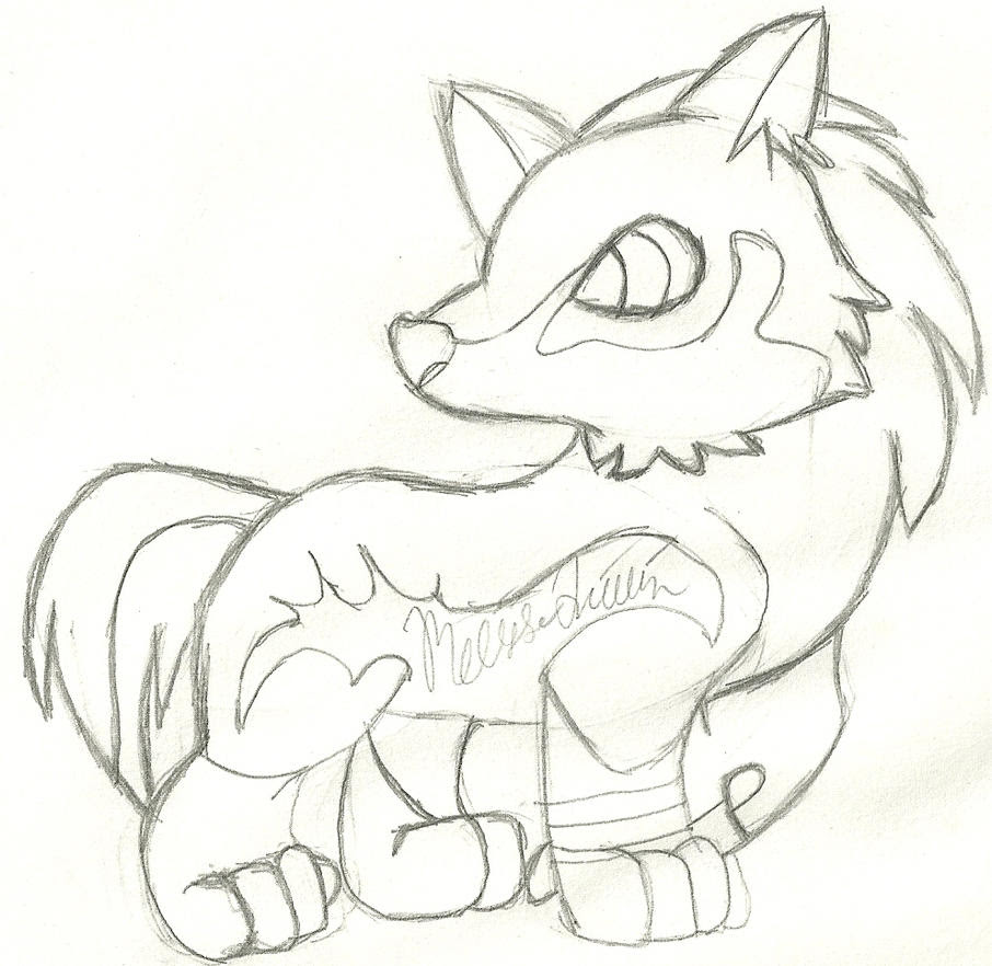 Chibi Wolf Link by yasminload63 on DeviantArt