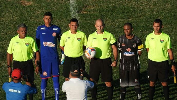 América-RN x Corintians-RN Campeonato Potiguar Sub-19 (Foto: Carlos Augusto/Divulgação)
