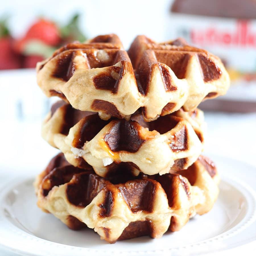 How to Make Belgian Liege Waffles - Handle the Heat