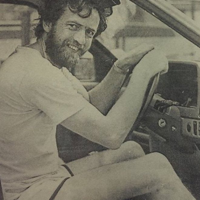 Jeremy Corbyn in shorts