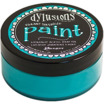 Ranger Dylusions Paint VIBRANT TURQUOISE DYP46042