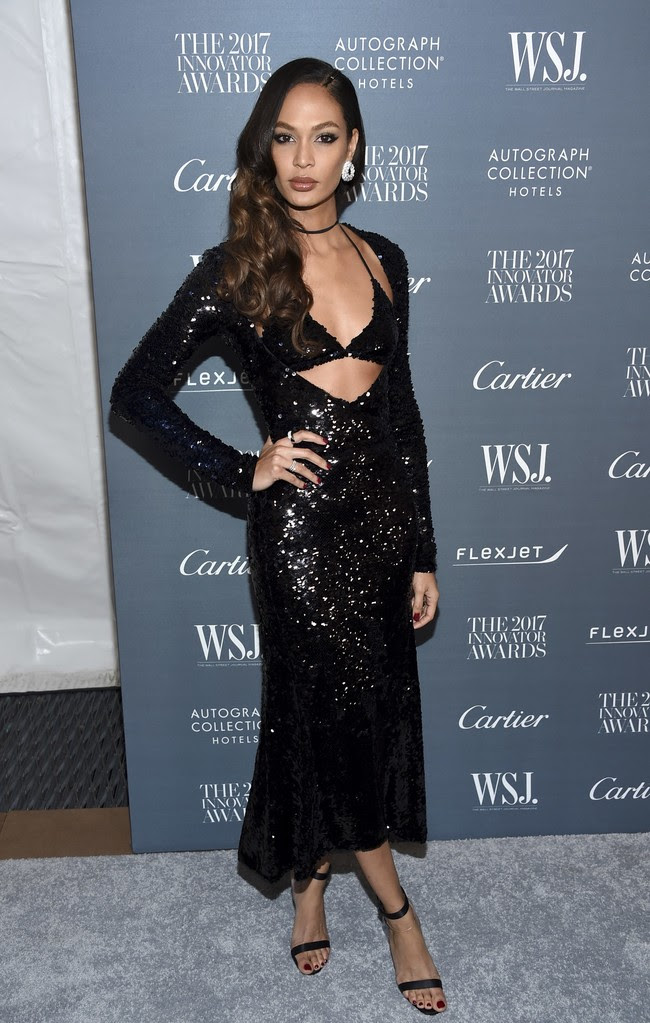 premios wsj magazine innovator awards celebrities alfombra roja Joan Smalls
