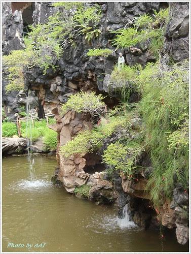 Landscape waterfalls @ Sam Poh Tong