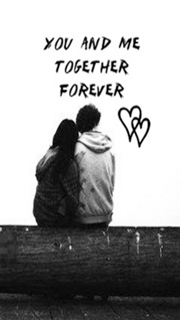 Download Together Forever Saying Quote Wallpapers For Your Mobile