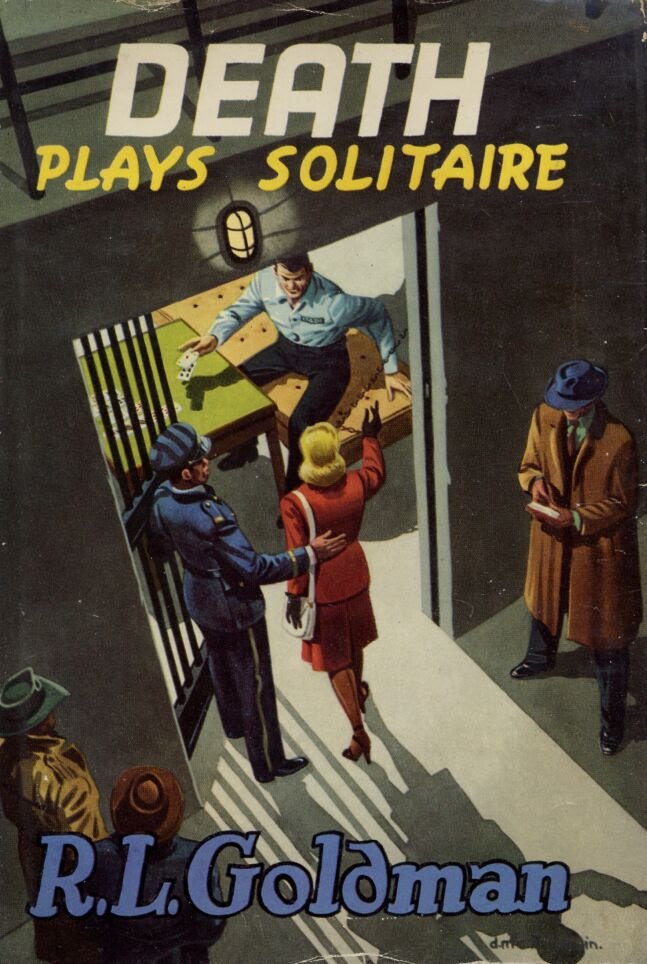 Image result for death plays solitaire book cover""