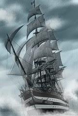 Pirate Ship by pink-punk