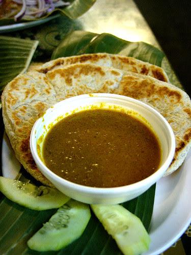 singapore banana leaf roti