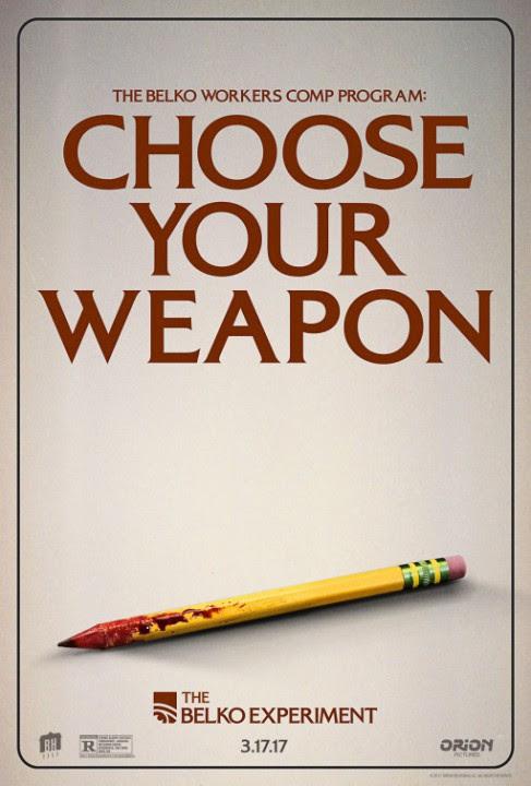 THE BELKO EXPERIMENT: des affiches joueuses pour le thriller horrifique de Greg McLean