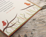 Autumn Birds Wedding Invitation