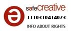 Safe Creative #1110310414073