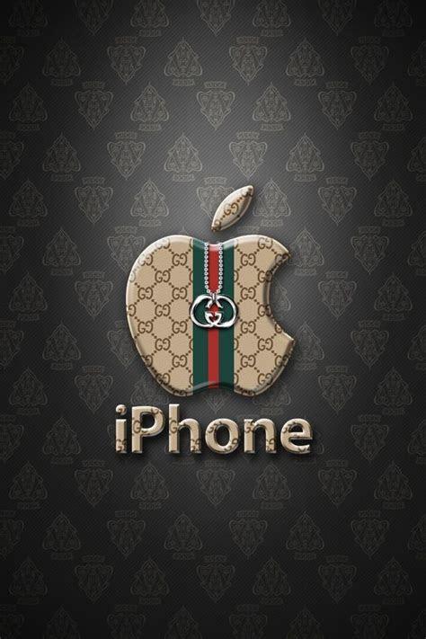 apple gucci iphone wallpapers apple logo wallpaper