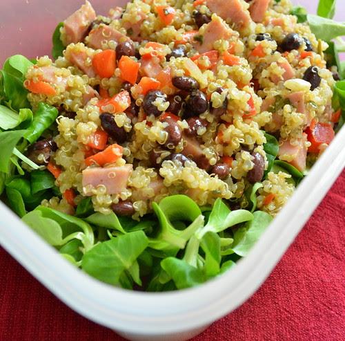 Ham & Quinoa Salad